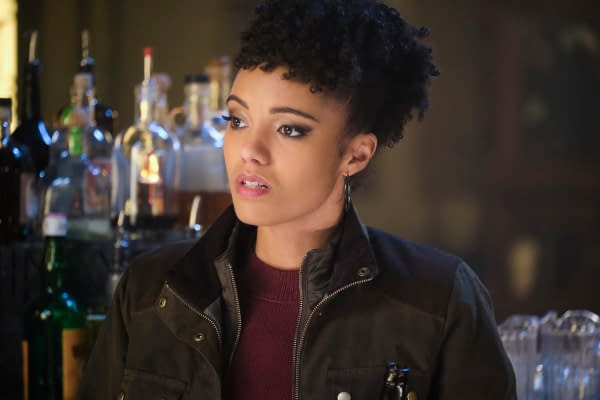 Maisie Richardson-Sellers as Charlie -- Photo: Jeff Weddell/The CW -- © 2020 The CW Network, LLC. All Rights Reserved.