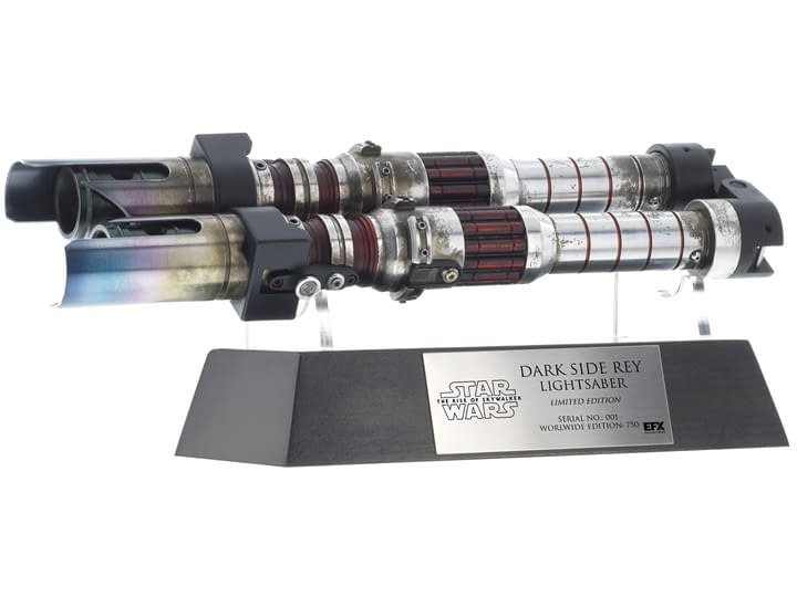 Dark Side Rey Gets a Replica Prop Lightsaber from EFX
