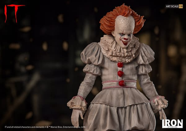 Pennywise Iron Studios Regualr Edition 3