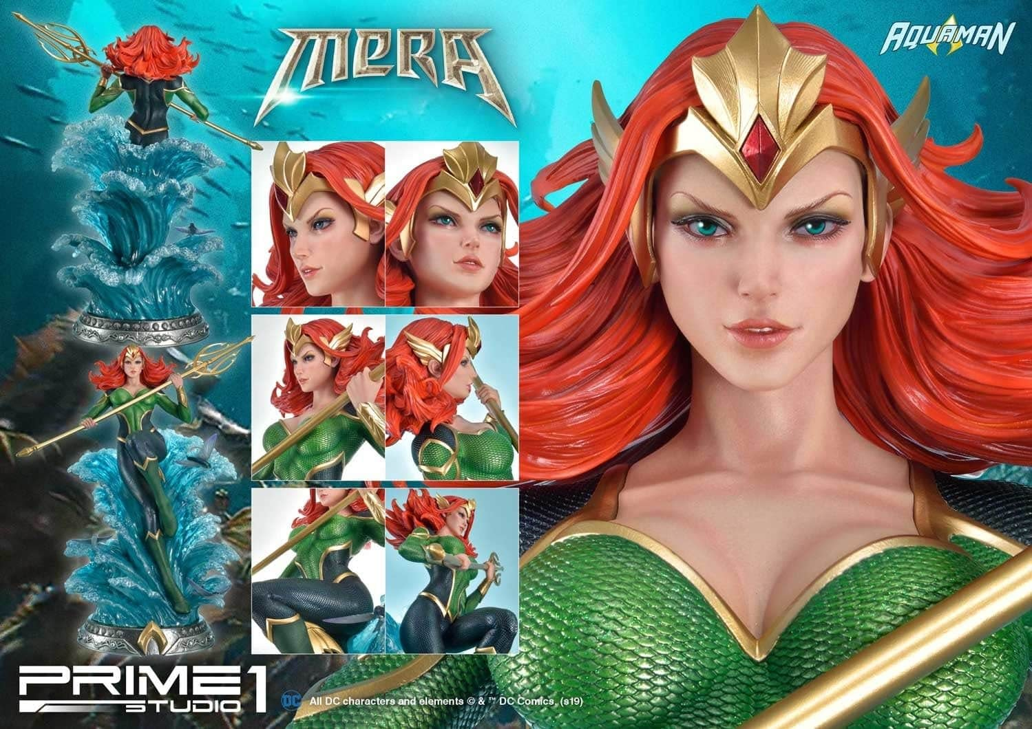 Prime 1 Studio Mera Comics Statue 3