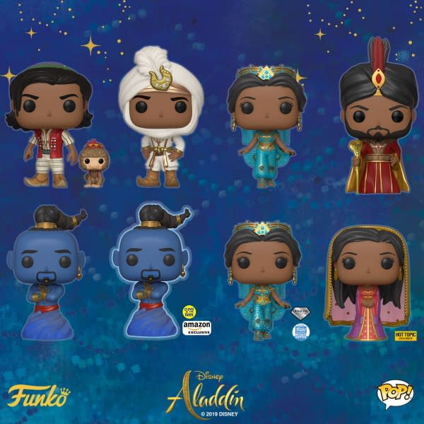Funko Round-Up: Batman, Aladdin, RWBY, and DuckTales!
