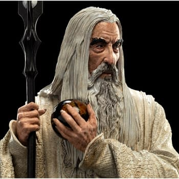 Lord of the Rings Saruman the White Statue from Weta Workshop