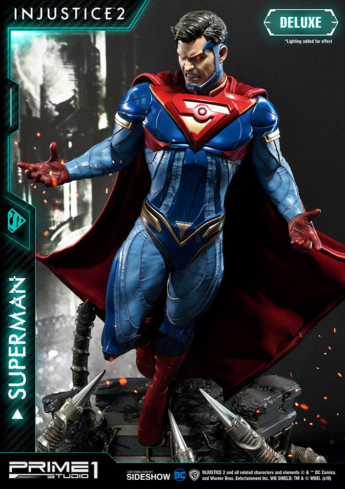 Injustice 2 Superman Statue de Prime 1 Studios