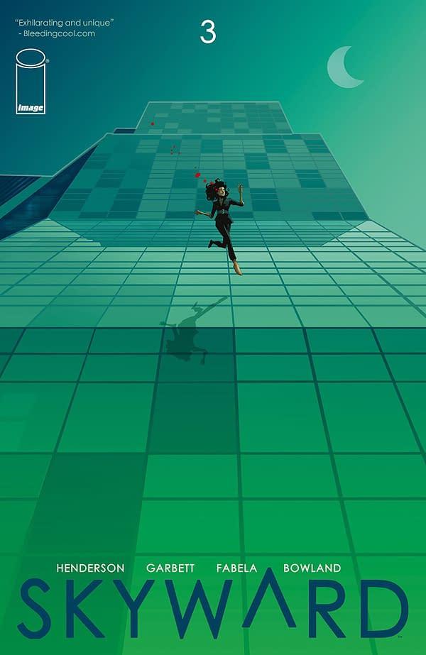 Skyward #3 cover by Lee Garbett