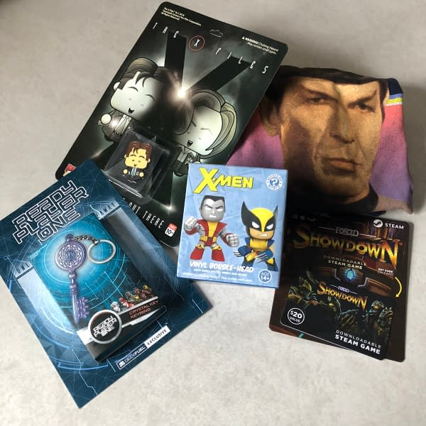 What's In The Box?! Geek Fuel – March 2018