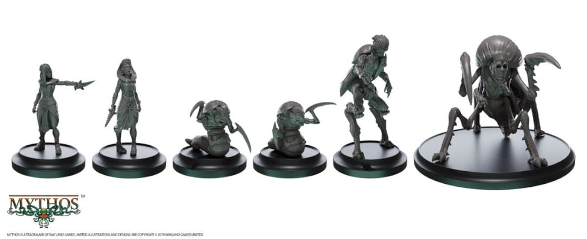 "Warcradle Studios Teases More ""Mythos"" Miniatures"