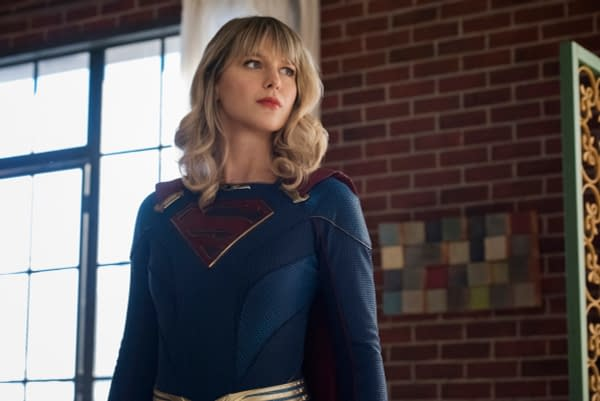 """Supergirl -- """"Immortal Kombat"""" -- Image Number: SPG519A_0299r.jpg -- Pictured: Melissa Benoist as Kara/Supergirl -- Photo: Dean Buscher/The CW -- © 2020 The CW Network, LLC. All rights reserved."""