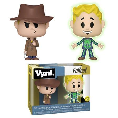 Funko Fallout Stranger Skeleton Vynl Set