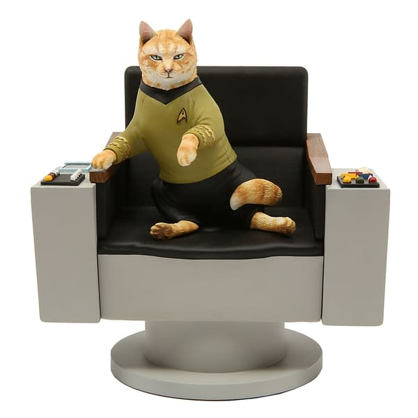 Chronicle Announces New Line of...Star Trek Cat Statues