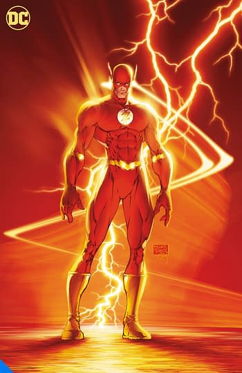 Flash by Geoff Johns, one of many DC Big Books in 2020 and 2021