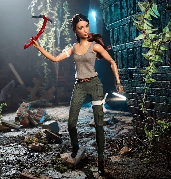 Mattel Unveils Tomb Raider Barbie at Toy Fair New York