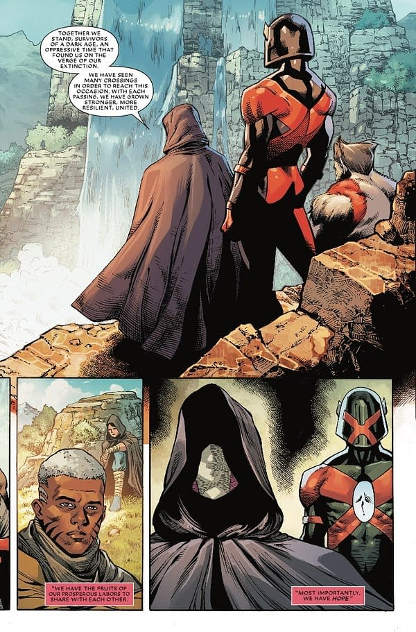 Meet the X-Ential in This Preview of Rob Liefeld's Major X #2