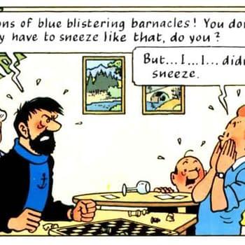 tintin and the big sneeze