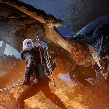 The Witchers Geralt Joins Monster Hunter World Next Month