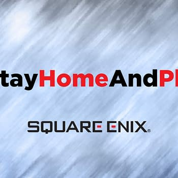 Square Enix Stay Home And Play
