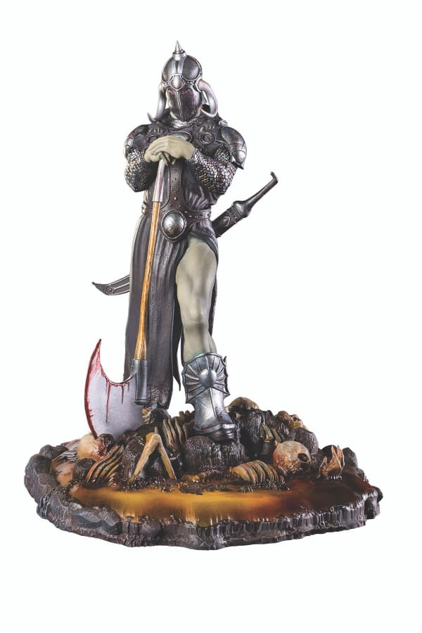 FRAZETTA DEATH DEALER 3 STATUE PHOTO