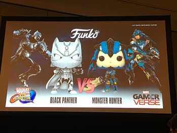 Capcom Shows Off The Black Panther And Monster Hunter Funko Pops At NYCC