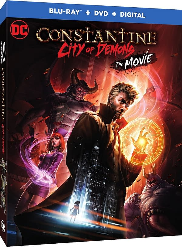 Could We See a Penis in Constantine: City of Demons – The Movie's R-Rated NYCC Premiere?