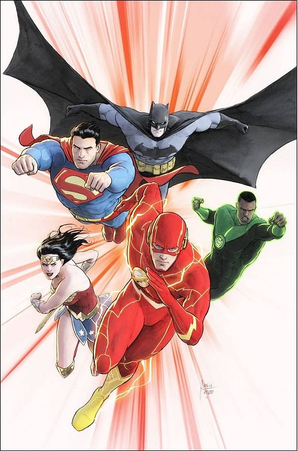 Justice League #47 Variant Cover