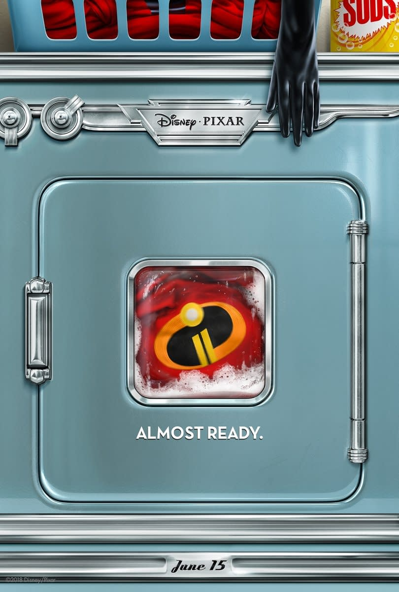 A New Poster and Teaser for Incredibles 2