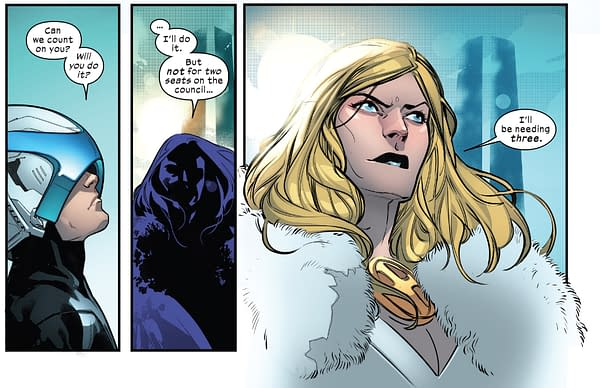 Kitty Pryde Will be the New Red Queen of The Hellfire club in Marauders