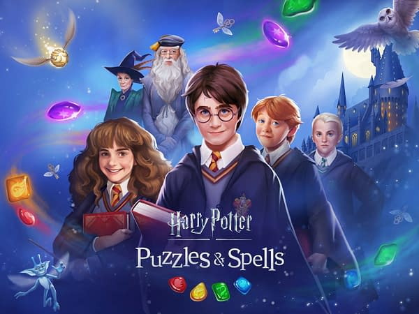 "Zynga Launches ""Harry Potter: Puzzles & Spells"" In Select Markets"