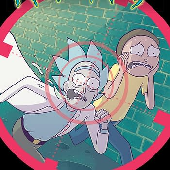 Rick and Morty #41 cover by Marc Ellerby and Sarah Stern