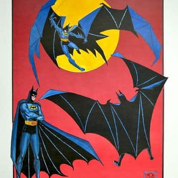 For Batmans 80th Birthday a Lithograph Signed by Bob Kane Up For Grabs