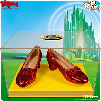"""The Wizard of Oz"" Rudy Slipper Replica Are Here from Ikon Design Studio"