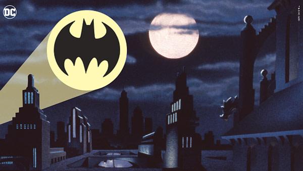 Batman: l'arrière-plan virtuel de la série animée de DC Comics