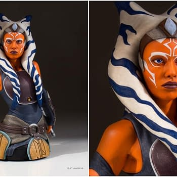 Star Wars Ahsoka Bust Collage