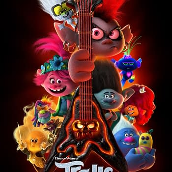 The Trolls World Tour final one sheet poster.