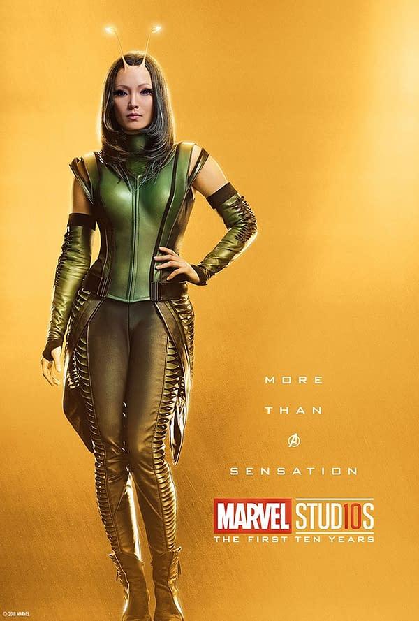 Marvel Studios More Than A Hero Poster Series Mantis