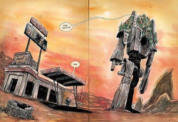 """Matt Kindt Asks """"Why Sad Robots?"""""""