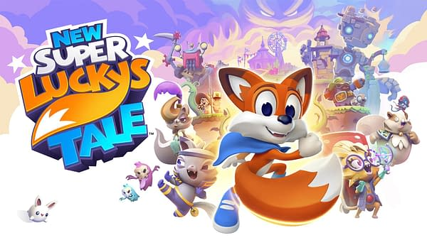 """""""New Super Lucky's Tale"""" Makes Its Way To The Nintendo Switch"""