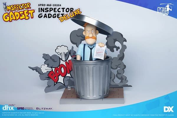 Inspector Gadget Cartoon Returns with New Figures from Blitzway