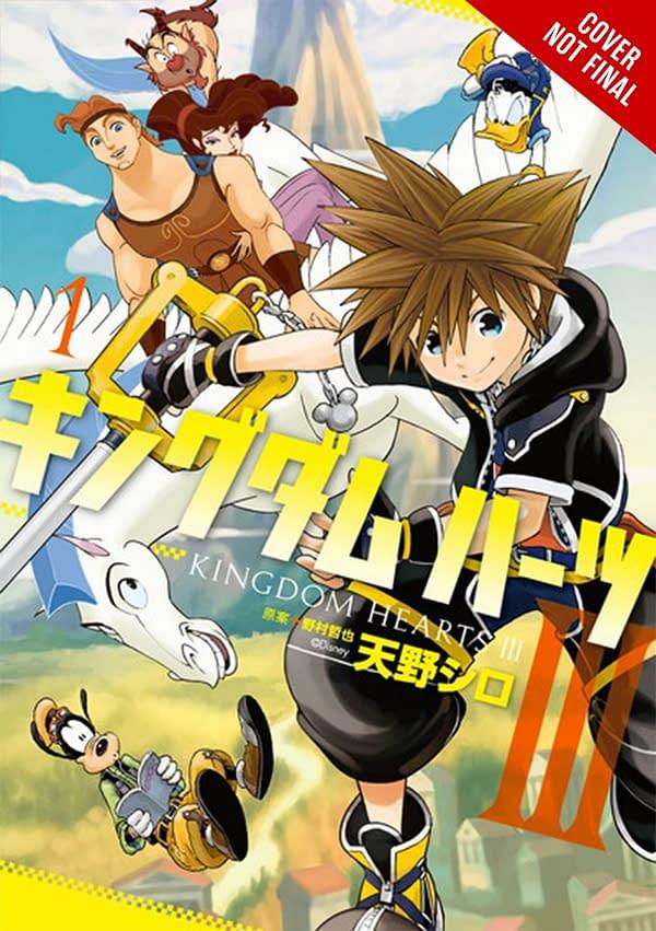 Yen Press Announces 3 New Manga Including Disney Titles