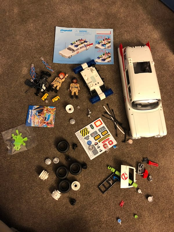 Playmobil Ghostbusters Ecto-1 2