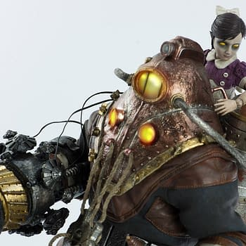 Bioshock 2 Subject Delta and Little Sister Rise Up with Threezero