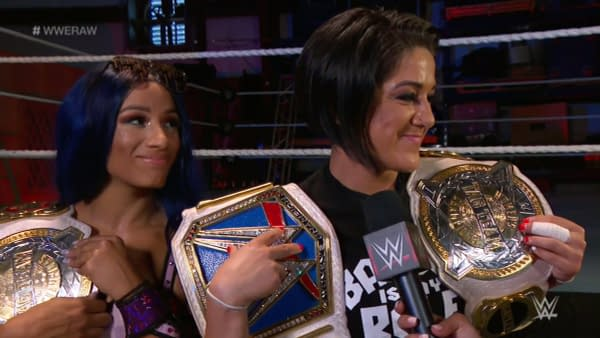 Doth pride goeth before a fall? Bayley and Sasha Banks hopeth not.