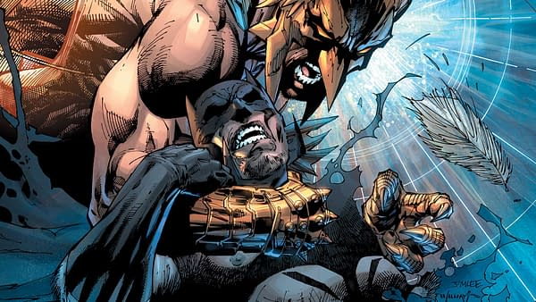 Hawkman Found variant cover by Jim Lee, Scott Williams, and Alex Sinclair