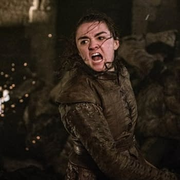 "Maisie Williams on Arya's Big 'Game of Thrones' ""The Long Night"" Moment"