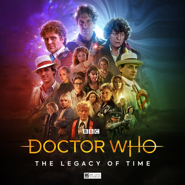 Doctor Who cover from Big Finish