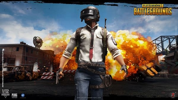 PUBG Figures from Soldier Story Toys