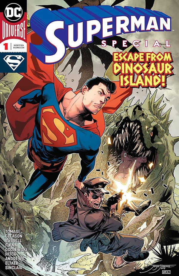 Superman Special #1 cover by Jorge Jimenez and Alejandro Sanchez
