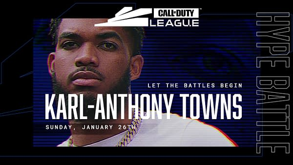 Karl-Anthony Towns Will Play Hype Battle At Call Of Duty League Launch
