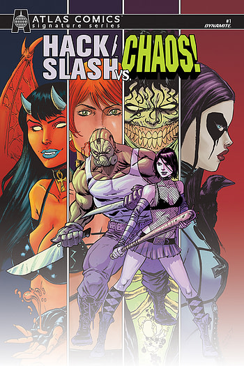 Hack Dynamite Entertainment Slash vs Vampirella 1 Cosplay Cover