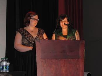 Amy Chop and Jennifer Haines 1