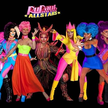 The premiere cast of RuPaul's Drag Race All Stars, courtesy of Logo.