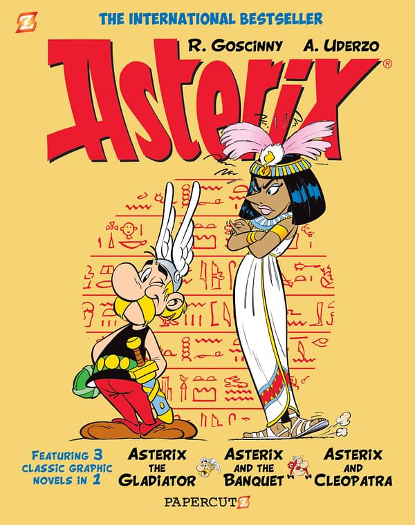 Asterix to be Retranslated Into American English by Papercutz for 2020